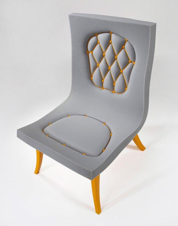 Stijlmagazine de nieuwe stoel van d vision for Design stoel 24