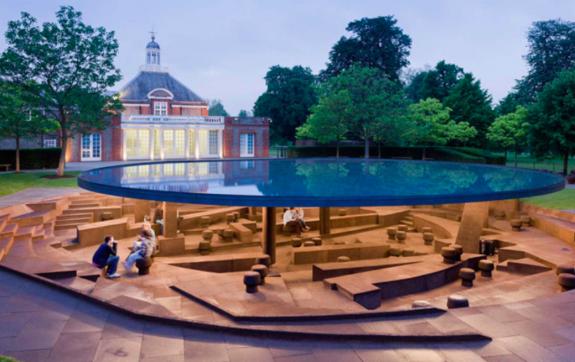 Serpentine Gallery Pavilion 2012 by Herzog & de Meuron and Ai Weiwei- Photo@Iwan Baan