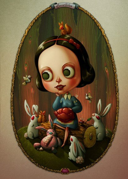 Stijlmagazine-Snow White and a Heart of a Rabbit- Marija Tiurina.1