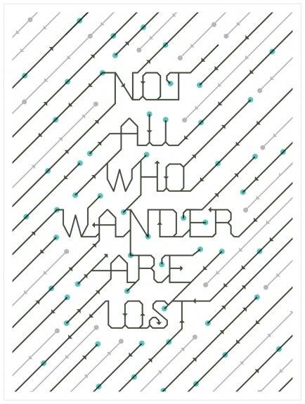Als print-liefhebber kon ik de deur niet uitlopen zonder iets te kopen. Deze zeefdruk van ontwerper Ross Moody hangt nu bij mij aan de muur.