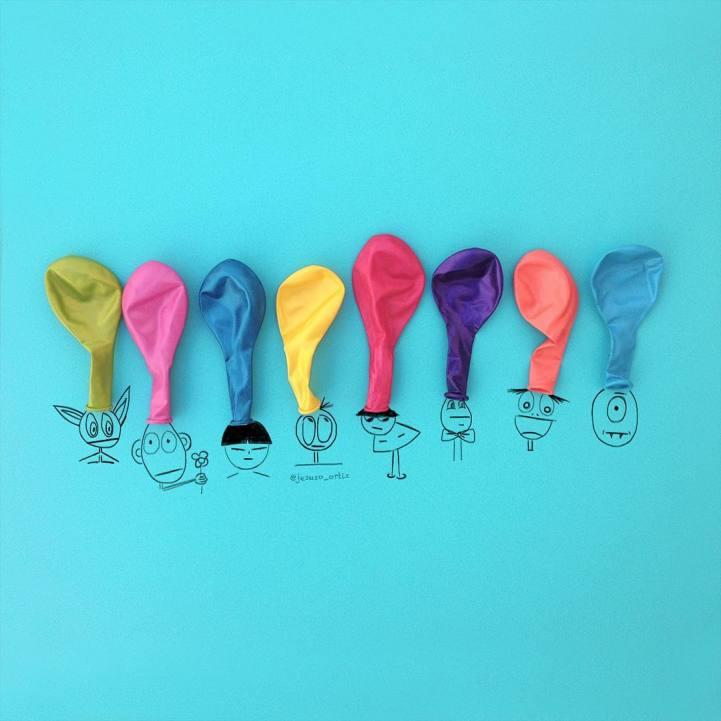Alledaagse kunst ballonnen-jesuso_ortiz16