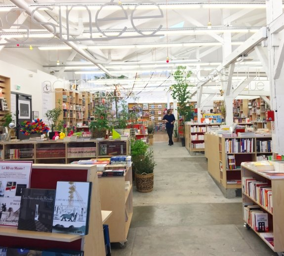 Stijlmagazine - boekenwinkel Parijs