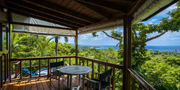 Geejam resort uitzicht