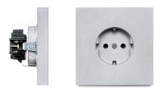 binnenwerk betonnen stopcontact