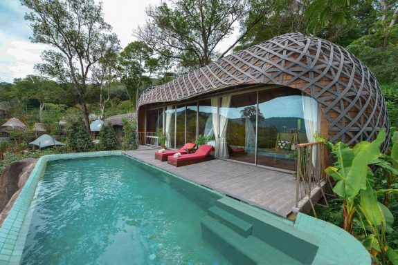 Keemala resort villa birdcage thailand